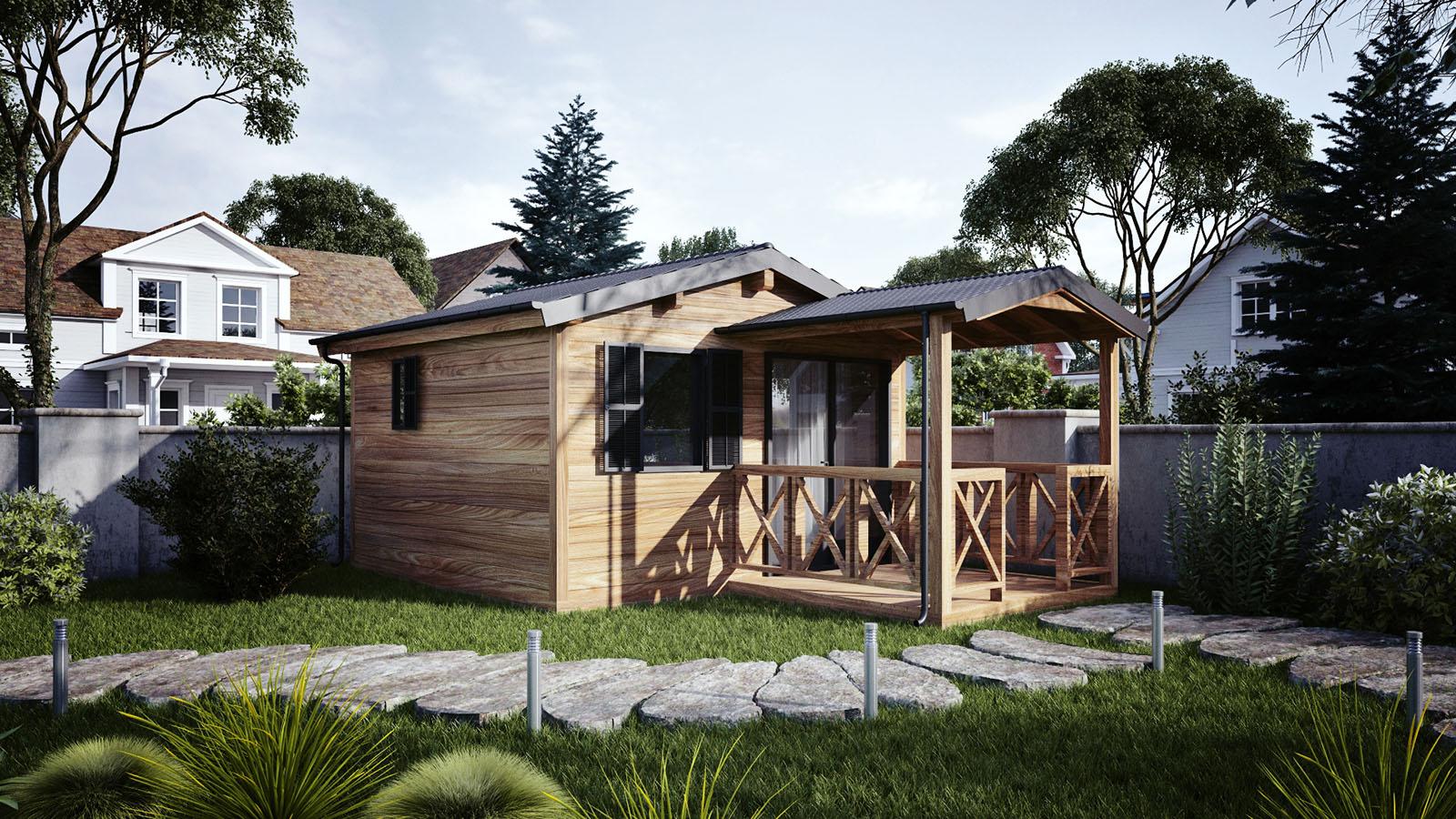 wooden modules - Interior And Exterior Designer